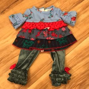 "Matilda Jane Joanna Gaines At Home Doll Clothes SET One Size 18"" Dolls AG NEW"